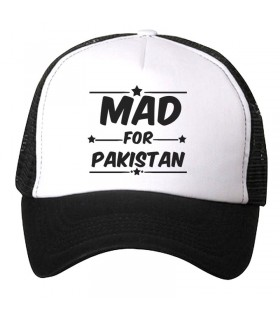 mad for pakistan art printed cap